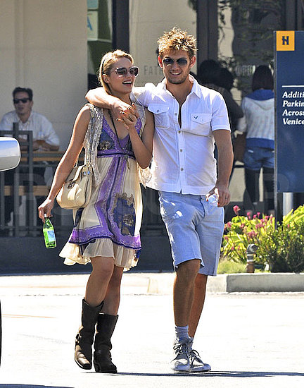 are alex pettyfer and dianna agron. Dianna Agron and Alex Pettyfer